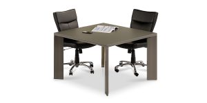Lavan 4-person conference table is made of soft touch MDF panels with 16 mm thickness.