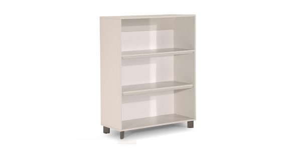 Neka3 binder storage, part of Neka managerial family, offers a suitable storage for placing binder. The legs of the product are made of extruded aluminum and anodized in silver color.