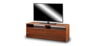 Sahneh TV table offers a drawer to store personal items.