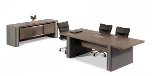 Sahand conference table is equipped with an electric hub with features including power outlet, network, microphone, USB and VGA socket.