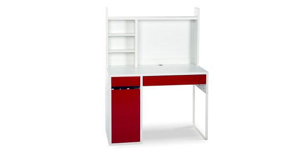 Baneh writing desk offers drawers to store stationery or personal items and a cupboard for placing binder or CPU. It is quite suitable for working with laptops and computers. Due to the dimensions of the desk, it occupies the least space, that can be used in small spaces. The trunking installed on the desk allows you to pass the cable under the desk where the socket is easily accessible. It is also possible to install a shelf (Abyaneh) on the desk in order to place more items.
